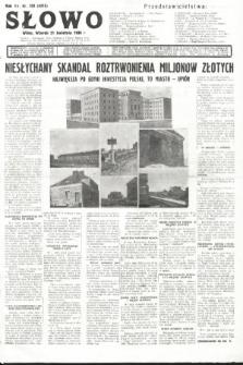 Słowo. 1936, nr109