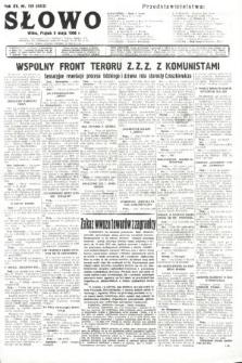 Słowo. 1936, nr126