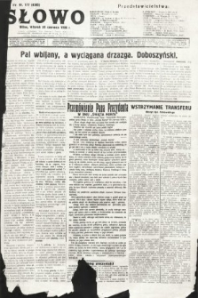 Słowo. 1936, nr177
