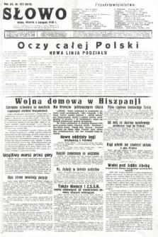 Słowo. 1936, nr212