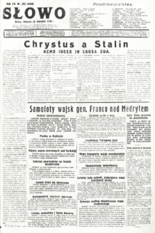 Słowo. 1936, nr233