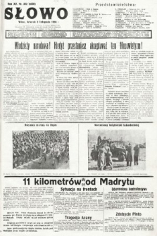 Słowo. 1936, nr302