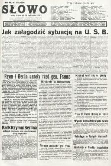 Słowo. 1936, nr318