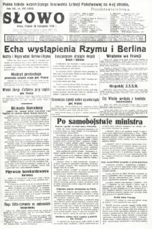 Słowo. 1936, nr319