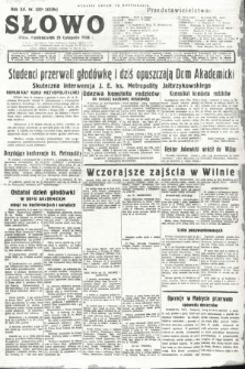 Słowo. 1936, nr322