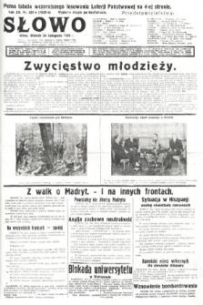 Słowo. 1936, nr323