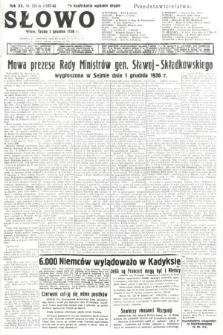 Słowo. 1936, nr331