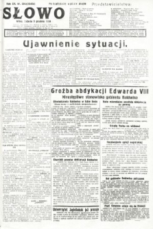 Słowo. 1936, nr334