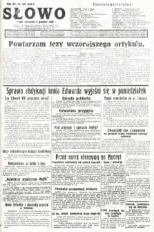 Słowo. 1936, nr335