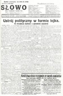 Słowo. 1936, nr336