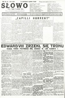 Słowo. 1936, nr340