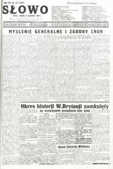 Słowo. 1936, nr341