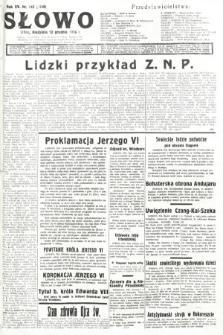 Słowo. 1936, nr342