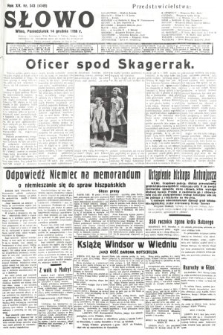 Słowo. 1936, nr343