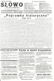 Słowo. 1936, nr347
