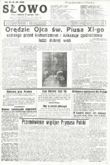 Słowo. 1936, nr354