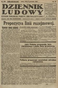 Dziennik Ludowy : organ Polskiej Partyi Socyalistycznej. 1920, nr229