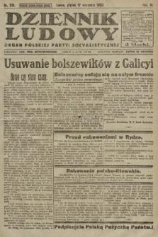 Dziennik Ludowy : organ Polskiej Partyi Socyalistycznej. 1920, nr231