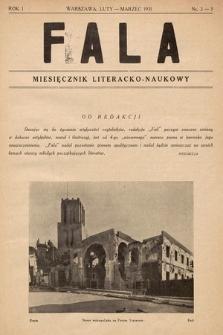 Fala : miesięcznik literacko-naukowy. 1931, nr2-3