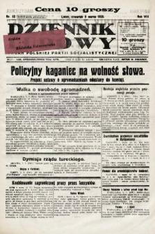 Dziennik Ludowy : organ Polskiej Partji Socjalistycznej. 1925, nr52