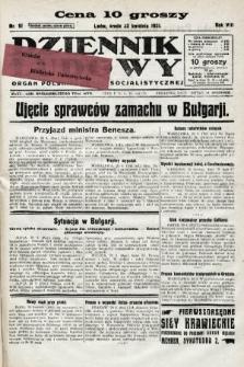Dziennik Ludowy : organ Polskiej Partji Socjalistycznej. 1925, nr91