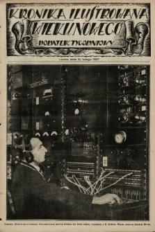 Kronika Ilustrowana Wieku Nowego : dodatek tygodniowy. 1927, [do nru7692]