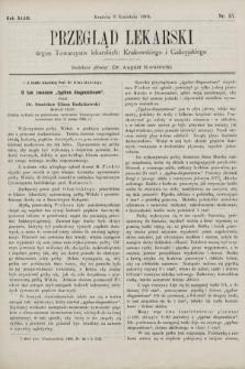 Przegląd Lekarski : organ Towarzystw lekarskich Krakowskiego i Galicyjskiego. 1904, nr15