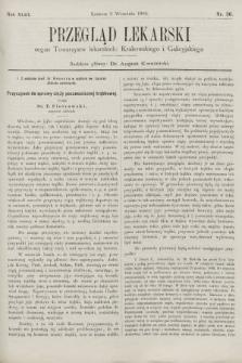 Przegląd Lekarski : organ Towarzystw lekarskich Krakowskiego i Galicyjskiego. 1904, nr36