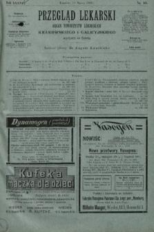 Przegląd Lekarski : organ Towarzystw Lekarskich Krakowskiego i Galicyjskiego. 1899, nr10