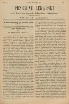 Przegląd Lekarski : organ Towarzystw Lekarskich Krakowskiego, Lwowskiego i Galicyjskiego. 1901, nr6