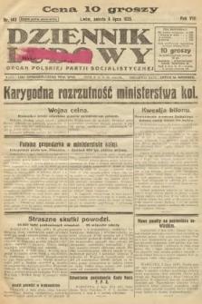 Dziennik Ludowy : organ Polskiej Partji Socjalistycznej. 1925, nr149