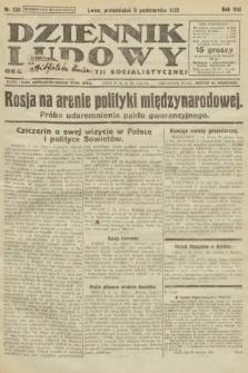 Dziennik Ludowy : organ Polskiej Partji Socjalistycznej. 1925, nr228