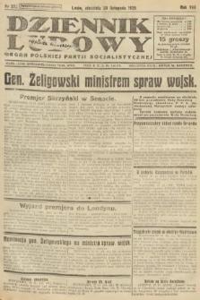 Dziennik Ludowy : organ Polskiej Partji Socjalistycznej. 1925, nr275