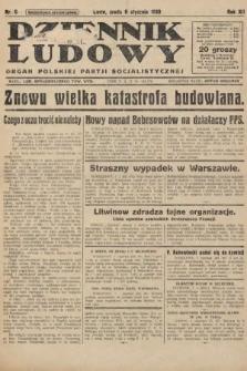 Dziennik Ludowy : organ Polskiej Partji Socjalistycznej. 1929, nr6