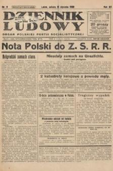 Dziennik Ludowy : organ Polskiej Partji Socjalistycznej. 1929, nr9