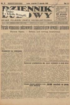 Dziennik Ludowy : organ Polskiej Partji Socjalistycznej. 1929, nr13