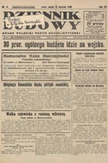 Dziennik Ludowy : organ Polskiej Partji Socjalistycznej. 1929, nr14