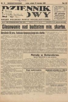 Dziennik Ludowy : organ Polskiej Partji Socjalistycznej. 1929, nr15