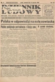 Dziennik Ludowy : organ Polskiej Partji Socjalistycznej. 1929, nr17