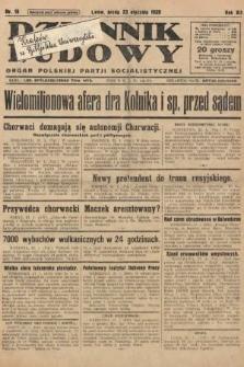 Dziennik Ludowy : organ Polskiej Partji Socjalistycznej. 1929, nr18