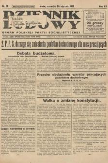 Dziennik Ludowy : organ Polskiej Partji Socjalistycznej. 1929, nr19