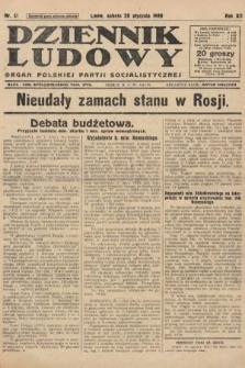 Dziennik Ludowy : organ Polskiej Partji Socjalistycznej. 1929, nr21