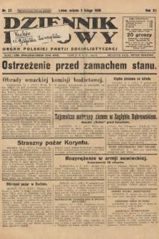 Dziennik Ludowy : organ Polskiej Partji Socjalistycznej. 1929, nr27