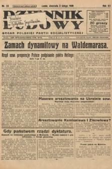 Dziennik Ludowy : organ Polskiej Partji Socjalistycznej. 1929, nr28