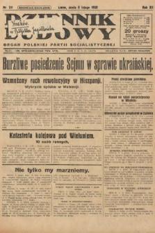 Dziennik Ludowy : organ Polskiej Partji Socjalistycznej. 1929, nr29
