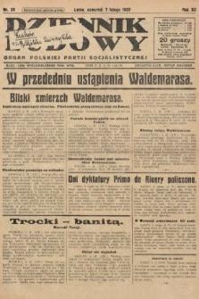 Dziennik Ludowy : organ Polskiej Partji Socjalistycznej. 1929, nr30