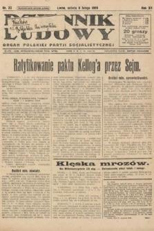 Dziennik Ludowy : organ Polskiej Partji Socjalistycznej. 1929, nr32