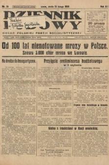 Dziennik Ludowy : organ Polskiej Partji Socjalistycznej. 1929, nr35