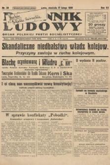 Dziennik Ludowy : organ Polskiej Partji Socjalistycznej. 1929, nr39