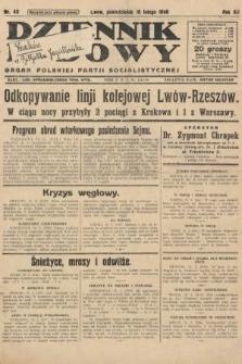Dziennik Ludowy : organ Polskiej Partji Socjalistycznej. 1929, nr40